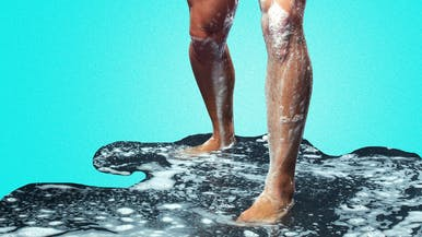 Is Soapy Runoff Enough to Keep My Feet Clean?