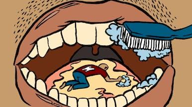 Should I Brush My Tongue Along with My Teeth?