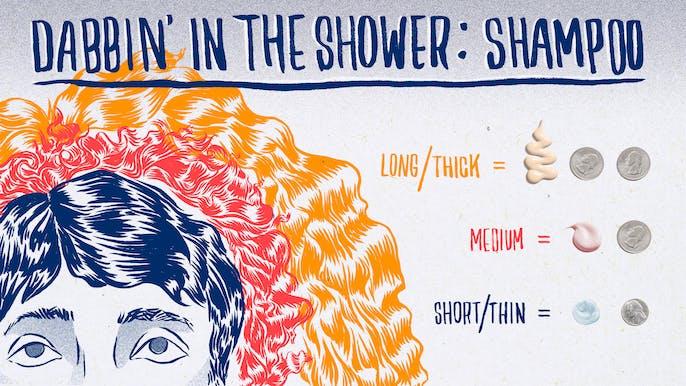 Dabbin': How Much Shampoo Do You Really Need to Use?