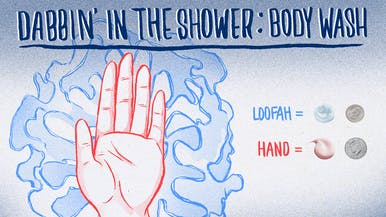 Dabbin': How Much Body Wash Do You Really Need to Use?