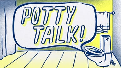 Potty Talk: Let Down Your Beard