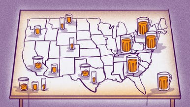 Which State Drinks the Most Alcohol? And When Are They Drinking It?