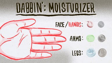 Dabbin': How Much Moisturizer Do You Actually Need?