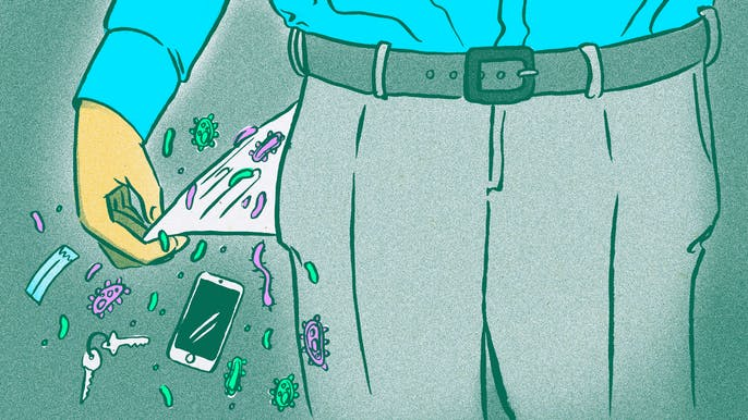 All the Germs on Your Phone, and Everything Else in Your Pockets