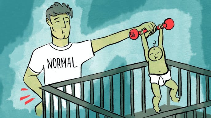 The Fitness Guide for People With No Free Time (and Very Small Children)