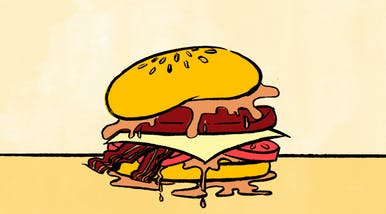Hamburgers Are Bigger Than Ever, but the Meat Has Always Been Questionable