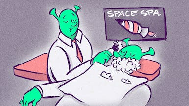 How Do You Shave in Space?