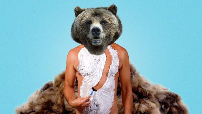 hairless-shaved-bear-hot-girls-show