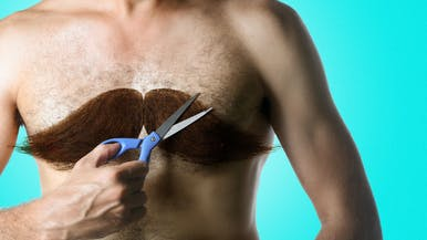 Here's How To Do Chest Hair Grooming the Right Way