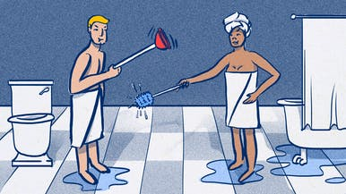 How to Share a Bathroom with Your Partner Without Killing Each Other
