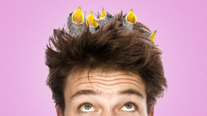 7 Percent of Men Only Wash Their Hair Every Two Weeks...Or Less