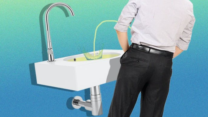 Why Men Pee in the Sink