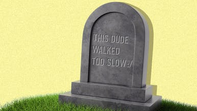 People Who Walk Too Slowly Are Twice as Likely to Die Younger