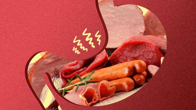 Mixing Meats Is Crippling Your Digestive Tract