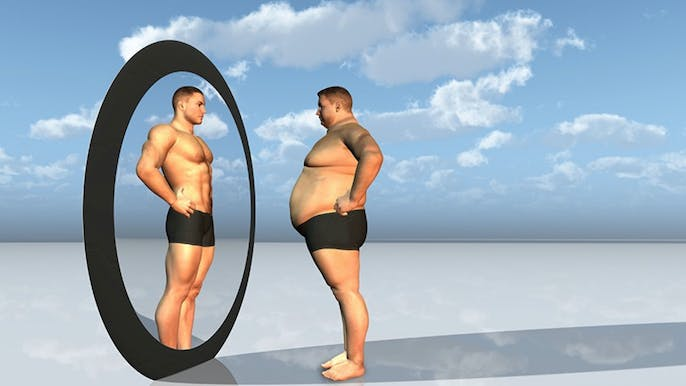 Why Fat Guys Don't Think They're Fat