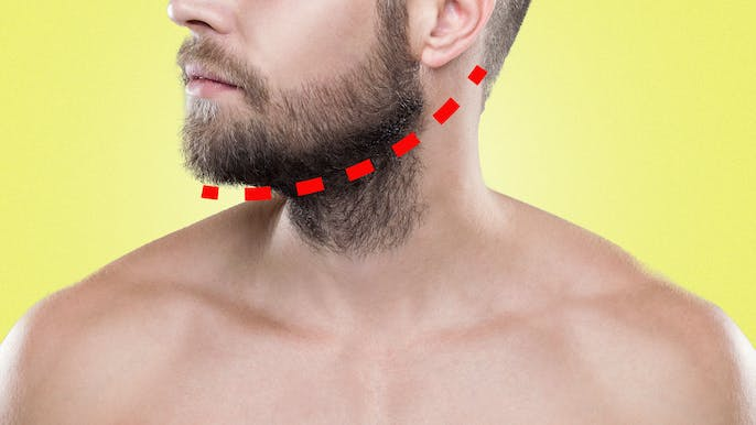 Necking Guide: Where Should Your Beard's Neckline Be?