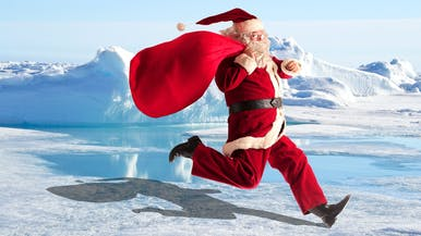 How Long Would Santa Survive at the North Pole?
