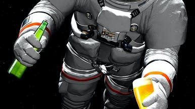 We've Got Some Really Bad News About Space Beer