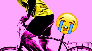 The Bumpy Relationship Between Cycling and Your Balls