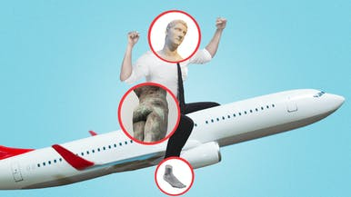 A Head-to-Butt-to-Toe Explanation of What Happens to Your Body on an Airplane
