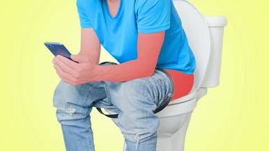 Sitting on the Toilet for Too Long Will Wreck Your Butt
