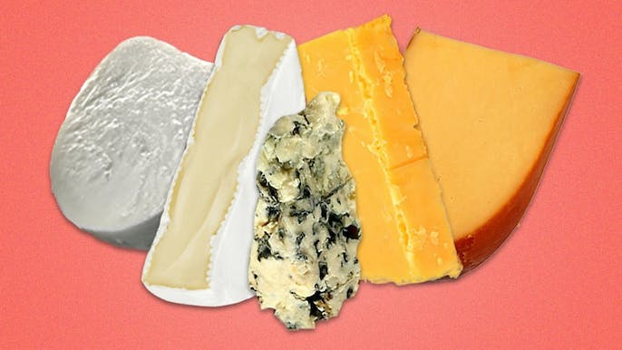 Ranking Every Type of Cheese by How (Un)Healthy They Are