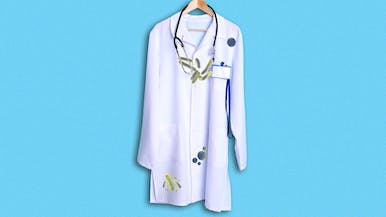 Your Doctor's White Lab Coat Is a Gross, Squirming Bacteria Factory
