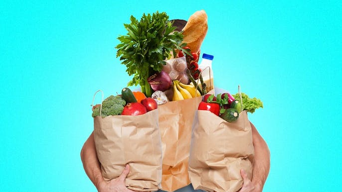 Why Men Feel Like They Have to Carry All Their Groceries Inside in One Trip
