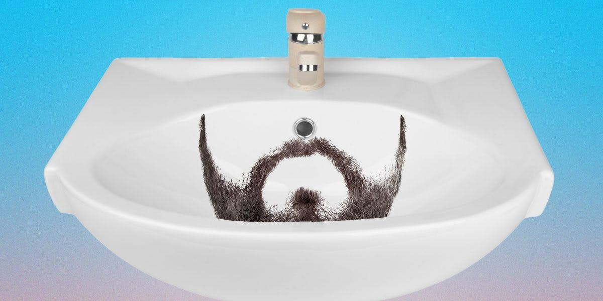 The Plumber\'s Guide to Not Clogging Your Sink When Shaving | Dollar ...