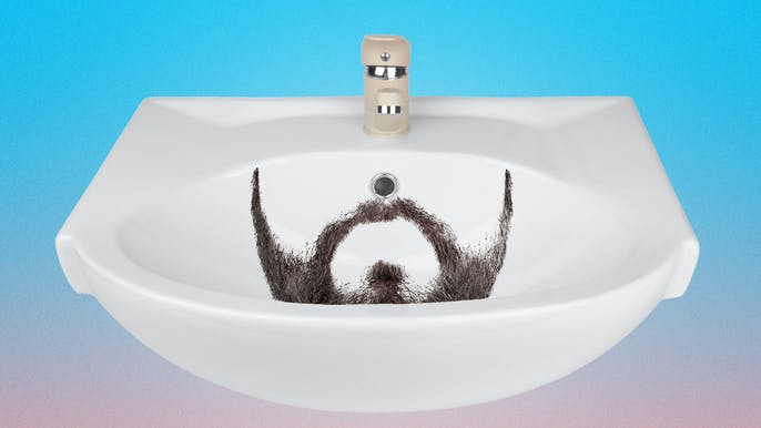 The Plumber's Guide to Not Clogging Your Sink When Shaving