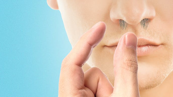 Is It Bad to Pluck Nose Hairs With My Fingers?